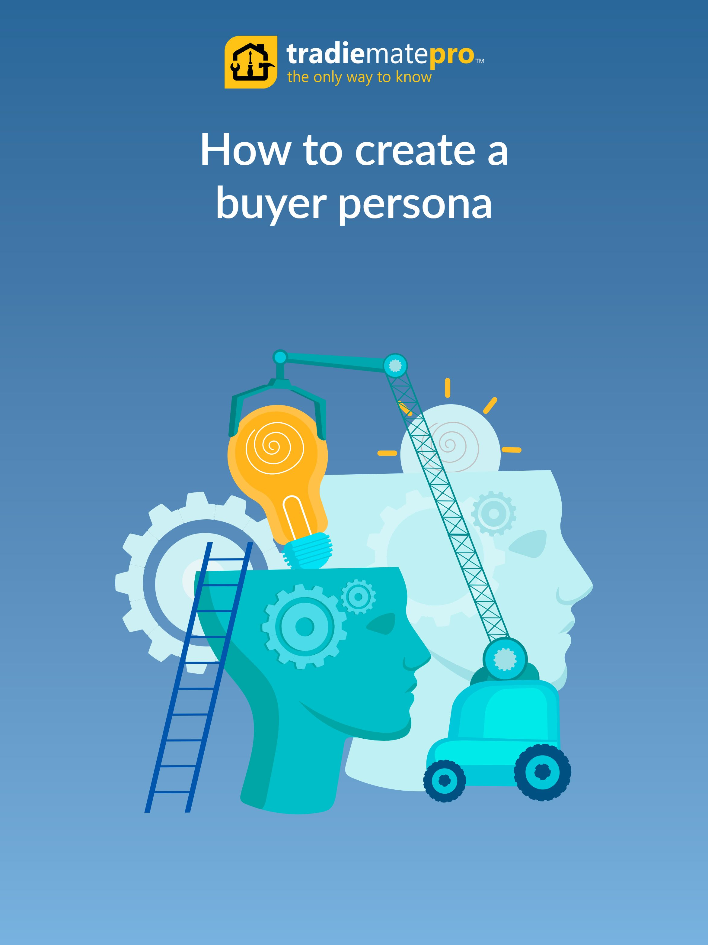 Ebook - How to create a buyer persona - Front Page